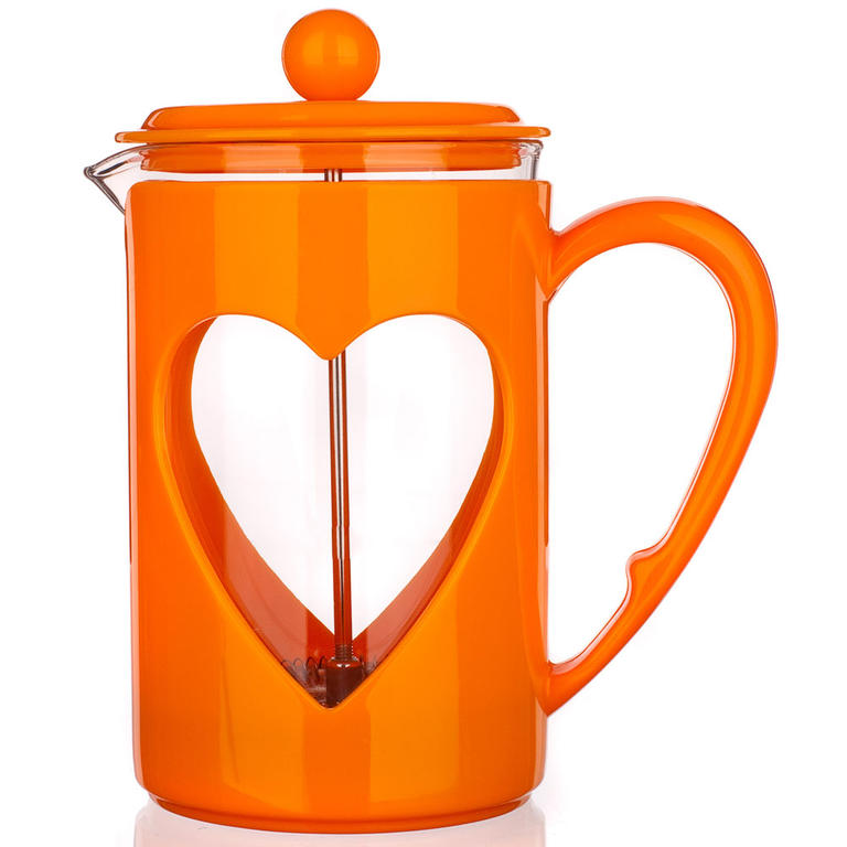 Skleněná konvice na kávu 800 ml Darby, BANQUET červená - 3