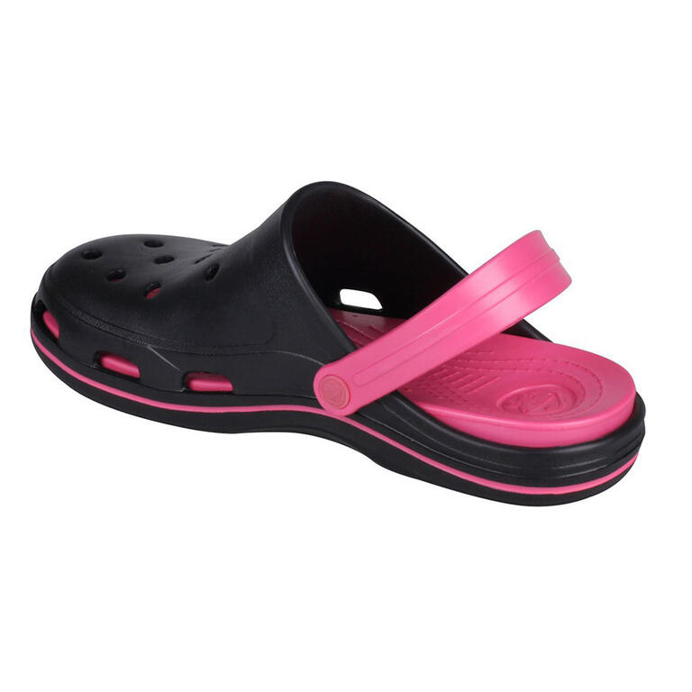 Dámské sandály COQUI BODEE, černo-růžové 38 - 3