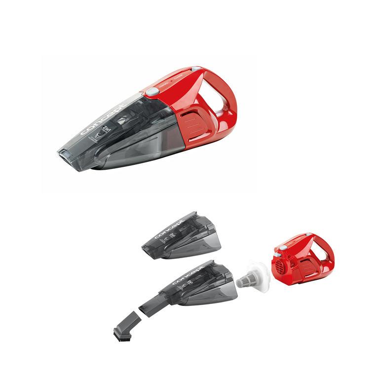Tyčový akumulátorový vysavač 2v1 červený Concept  - 3