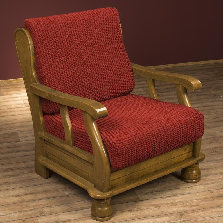 Super strečové potahy GLAMOUR cihlové rohová sedačka (š. 350 - 530 cm) - 3