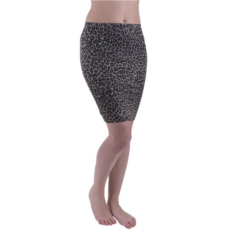 Džegínová sukně 2 ks Jeansy + Leopard vel. 48/50 - 3