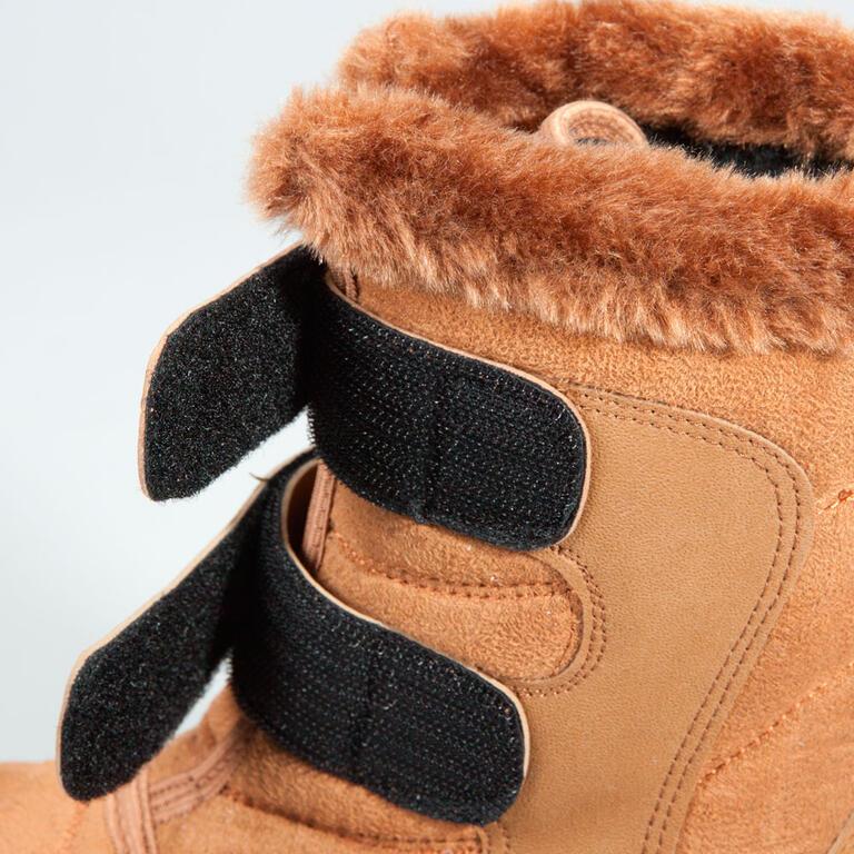 Zimní boty s hřejivým beránkem hnědé vel. 36 - 4