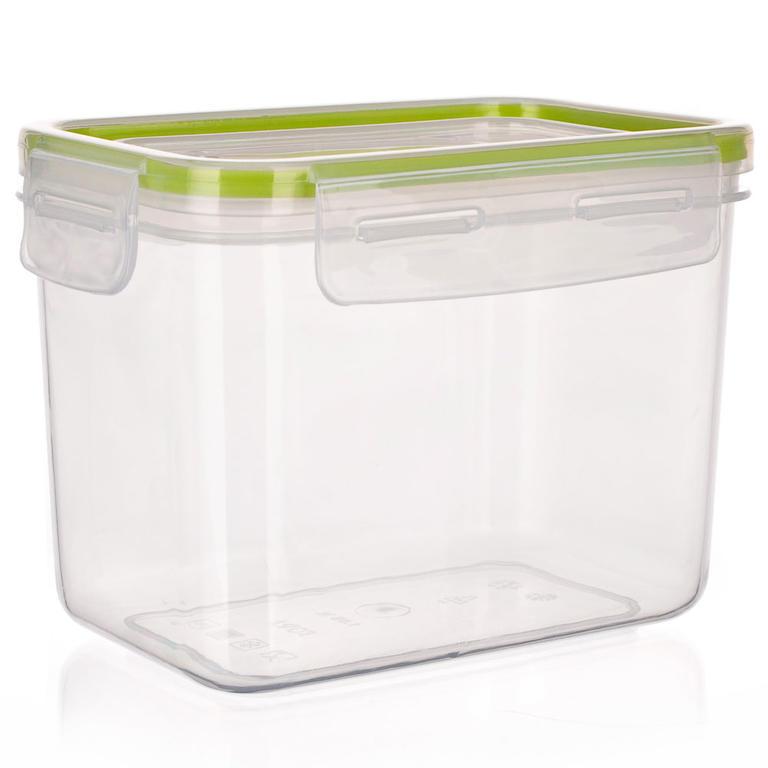 Plastová dóza na potraviny Super Click zelená, BANQUET 1,05 l - 4