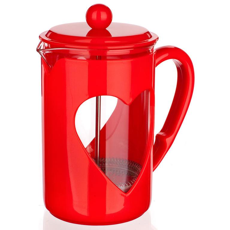 Skleněná konvice na kávu 800 ml Darby, BANQUET červená - 4