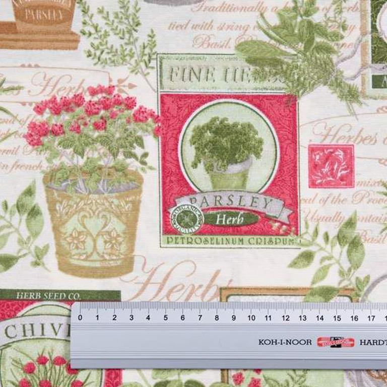 Ubrus patchwork Herb 140 x 180 cm - 4