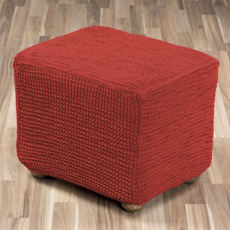 Super strečové potahy GLAMOUR cihlové rohová sedačka (š. 350 - 530 cm) - 5
