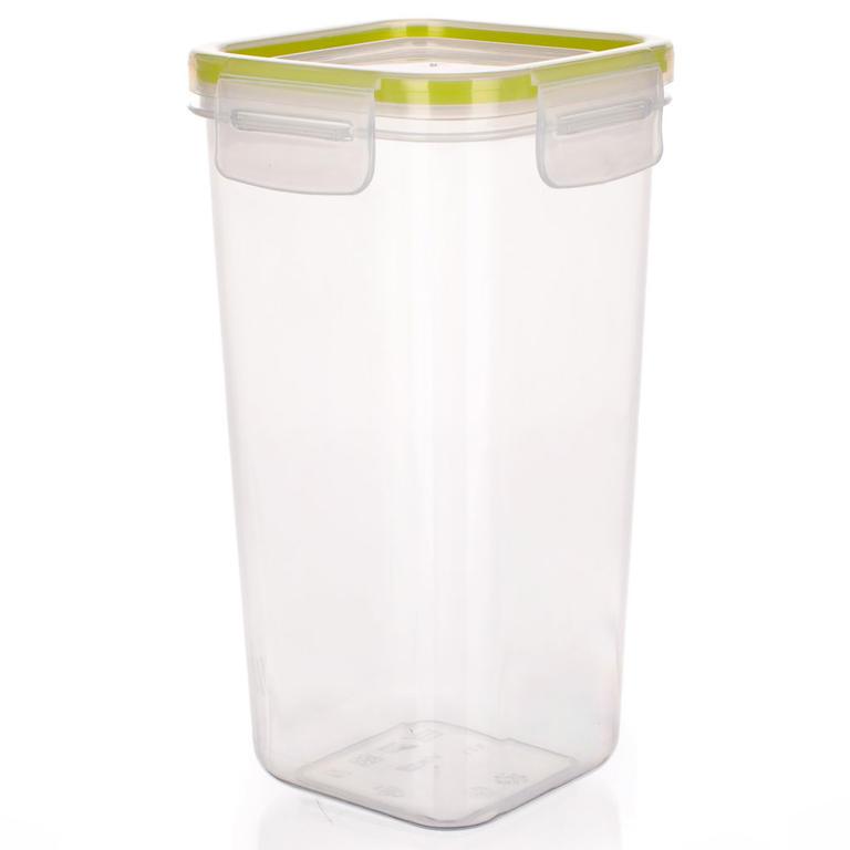 Plastová dóza na potraviny Super Click zelená, BANQUET 1,05 l - 6