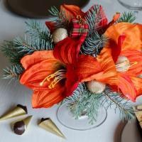 Zářivá vánoční dekorace