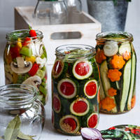 Nejkrásnější zavařená zelenina