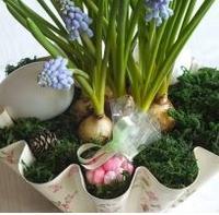Jarní květinové aranžmá