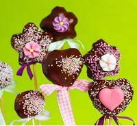 Mandlové cake pops