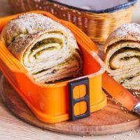 Plněný italský chléb