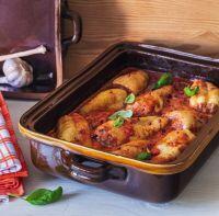 Plněné papriky s italskou chutí