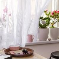 Záclony do jarních oken