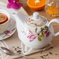 Čaj s brusinkami a zázvorem