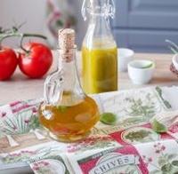 Bazalkový ochucený olej