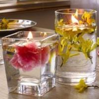 Jarní vodní svíčka