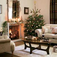 Vyzdobte si obývací pokoj vánočně