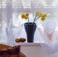 Záclony plné květin